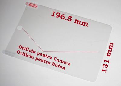 Folie protectie tableta iPad mini, clear, 7.9 inch foto