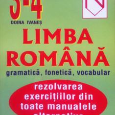 LIMBA ROMANA - GRAMATICA, FONETICA, VOCABULAR - Doina Ivanes (Clasele III-IV) - Culegere Romana