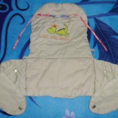 Marsupiu / port bebe auto de la Prenatal; impecabil, aproape nou - Marsupiu bebelusi
