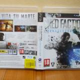 Red Faction Armageddon (PS3)  (ALVio) + sute de alte jocuri PS3 ( vand schimb )