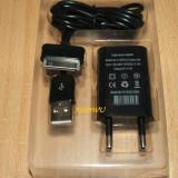 Incarcator +cablu USB Samsung Galaxy Tab 10.1 LTE I905, 10.1 P7500 3G, 10.1 P7510, 10.1 V P7100, Galaxy Tab 2 10.1 P5110, P6200 Galaxy Tab 7.0, 7 inch