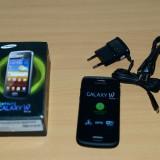 Samsung galaxy w nou nout 0 min vb full box - Telefon Samsung, Negru, 4GB, Neblocat, Single core, 512 MB