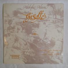 {DISC VINYL} ADOLPHE ADAM - GISELLE (balet in 2 acte) (vinil, ELECTRECORD) - Muzica Opera