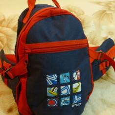 Borseta/geanta spate ranforsat; 2 compartimente, curele ajustabile; 30 x 20 cm - Borseta Barbati
