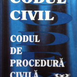 CODUL CIVIL -  CODUL DE PROCEDURA CIVILA