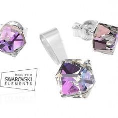 Set bijuterii argint si Swarovski - Set Swarovski
