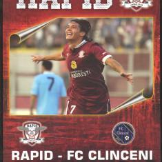 FC RAPID - FC CLINCENI - Program meci