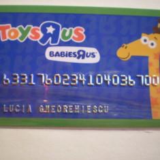 CARD TOYS RUS - BABIES RUS - SPANIA . - Card Bancar