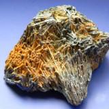 Fosila roca - Specimen minerale - STIBINA