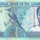 GAMBIA █ bancnota █ 25 Dalasi █ 2005 █ P-22c █ UNC █ necirculata