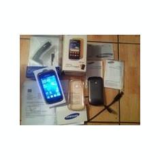 Telefon mobil Samsung Galaxy Mini 2, Galben, Neblocat - Samsung S2 mini gri galben