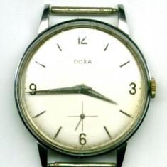Ceas de Buzunar Doxa - CEAS DOXA ORIGINAL ELVETIAN DE MANA 35 MM CARCASA DE OTEL FUNCTIONAL DEOSEBIT