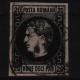 1867 l.p. 20c stampilat - Timbre Romania
