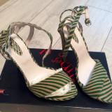 Sandale dama - Sandale Smiling Shoes #36-37