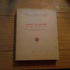 ASPECTE ALE ECONOMIEI ROMANESTI * Material Documentar pentru Cunoasterea unor Probleme in cadrul Planului Economic -- V. Scarlatescu -- 1939, 635p. - Carte Economie Politica