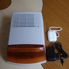 Sirena wireless universala -de exterior - Sisteme de alarma