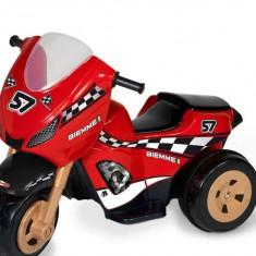 Motoscuter Biemme - Masinuta electrica copii, 12-24 luni, Rosu