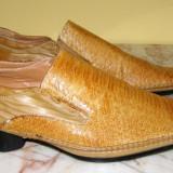 Pantofi barbati marca Dalao piele marimea 44 , locatie raft ( 12 / 2 )
