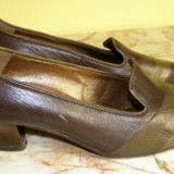 Pantofi dama marca Salamander piele marimea 4 1/2 ( echivalent 37.5 european ) locatie raft ( 38 / 7 )