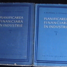 PLANIFICAREA FINANCIARA IN INDUSTRIE-A. MURESN- V. STANESCU- - Carte Contabilitate