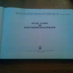 ATLAS CLINIC DE ELECTROENCEFALOGRAFIE -- Constantin Arseni. Ignat Roman -- 1986, 371 p. ( din care : 289 )planse - Carte Neurologie