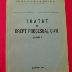 TRATAT DE DREPT PROCESUAL CIVIL - ILIE STOENESCU, S.ZILBERSTEIN - Carte Drept procesual civil