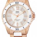 Ceas Q&Q de dama cod F461-014Y - pret vanzare 139 lei; NOU; ORIGINAL; ceasul este insotit de garantie de 24 luni.