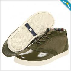 100% AUTENTIC - Tenesi DC - Tenisi DC Cadet Chukka - Tenisi barbati Dc Shoes - Tenisi Piele Naturala - Tenisi Originali DC, Marime: 40.5, 42