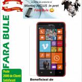 Folie de protectie Transparenta Nokia Lumia 625 MONTAJ iNCLUS in Pret