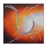 Tablou abstract modern 1 (75x75cm), LIVRARE GRATUITA 24-48h - Pictor roman, Ulei