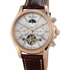 Ceas de lux Engelhardt Cederic Gold White, original, nou, cu factura si garantie! - Ceas barbatesc Engelhardt, Mecanic-Automatic