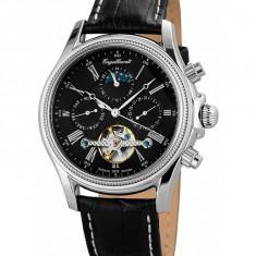 Ceas de lux Engelhardt Cederic Steel Black, original, nou, cu factura si garantie! - Ceas barbatesc Engelhardt, Mecanic-Automatic