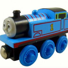 Trenulet de jucarie, Lemn, Unisex - Trenulet jucarie Thomas - THOMAS locomotiva lemn cu magnet - 100% original - NOU