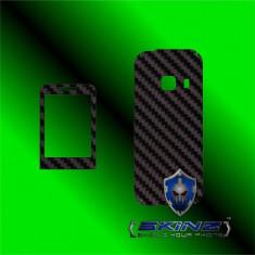 Folie de protectie - SAMSUNG C3322 LA FLEUR - Folie Carbon SKINZ kit full body, Protectie totala telefon profesionala, ecran, spate, carcasa, husa tip skin
