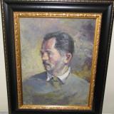 ULEI CARTON AUTOPORTRET VASILESCU CORNEL n. 1934 BARLAD - Pictor roman, Portrete, Realism