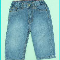 DE FIRMA _ Pantaloni blugi, subtiri, talia ajustabila, H&M _ baieti | 12 luni