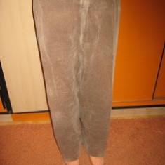PANTALONI RAIATI-XXXL - Pantaloni XXXL, Culoare: Bej