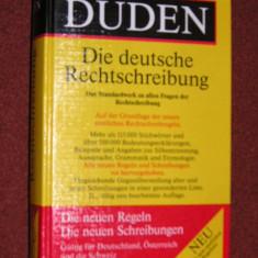 Carti ortodoxe - Duden 01. Die deutsche Rechtschreibung