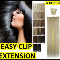 Extensii par BeautyUkCosmetics - Extensii extensie par banda 5 clipsuri kanekalon Calitate A+++