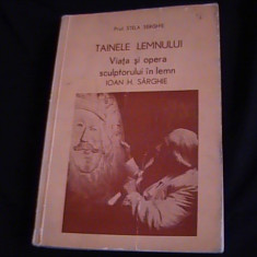 TAINELE LEMNULUI-VIATA SI OPERA SCULPTORULUI-IN LEMN-IOAN N. STINGHIE- - Carte Hobby Amenajari interioare