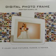Rama foto digitala Alta 7 inch | ALBA | Telecomanda | NOUA, 5-7