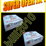 Foite tigari - 2 X CARTEL 1000 filtre tigari / cutie - 2.000 tuburi tigari injectat tutun
