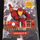 Film animatie, DVD, Romana - Iron Man Armored Adventures - DVD Desene Animate Dublate Romana Omul de fier Vol Volumul 2