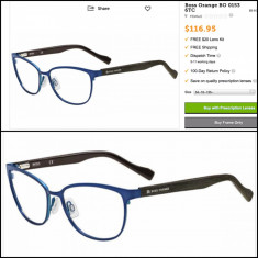 Rama ochelari Hugo Boss - Rama BOSS ORANGE BO 0153 autentic