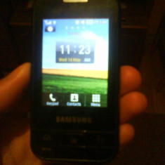 Telefon Samsung, Gri, <1GB, Neblocat, Fara procesor, Nu se aplica - Samsung C3500 Chat