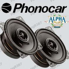 Difuzor auto 100mm, 60W, PHONOCAR ALPHA 66020, cu doua cai - 000902 - Boxe auto