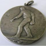 Medalie sport Franta 1957 argint