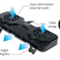 Stand racitor laptop Genius 100, USB, compatibil 10-17 inch - Masa Laptop