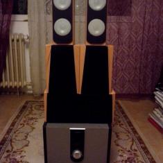 Boxe PC, Canale : 5.1, 121-160W, In Subwoofer - Sistem audio Home Cinema 5.1 putere reala 200W subwoofer de 100W 20kg