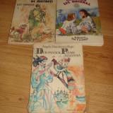 """Carte/carti cu povesti""""VANATORUL DE MISTRETI"""";COMOARA LUI DECEBAL"""";""""DUR-PANDUR PASARE MAIASTRA"""" - Carte de povesti"""